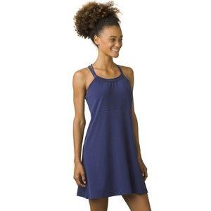 PrAna Pristine Dress in Indigo Racerback NWT Sz M